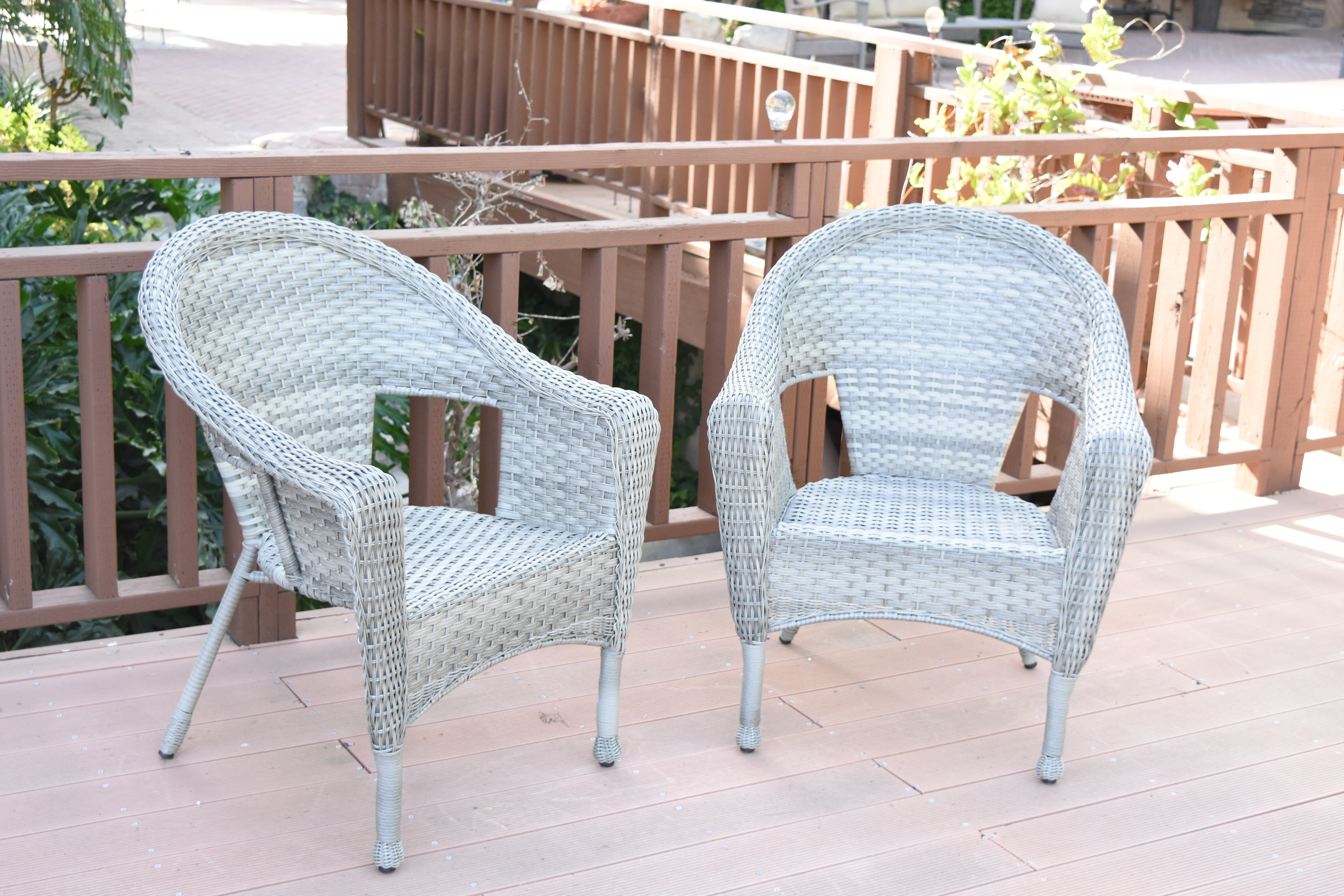 Alcott Hill Kentwood Resin Wicker Patio Chair Without Cushion Reviews Wayfair