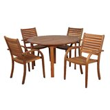 Trosper International Home 5 Piece Dining Set
