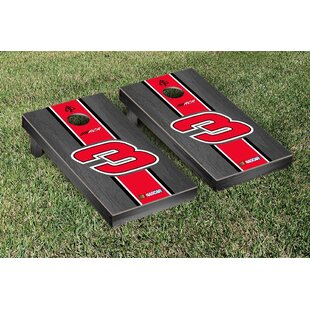 Victory Tailgate NASCAR Austin Dillon #3 Onyx Stained Stripe Version Cornhole Game Set