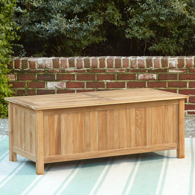 Summerton Teak Storage Box & Birch Lane™ Summerton Teak Storage Box u0026 Reviews | Birch Lane