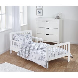 Heather Toddler Bed Frame with Bedding Set by Viv   Rae
