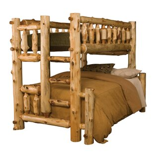 Traditional Cedar Log Bunk Bed by Fireside Lodge Best Design