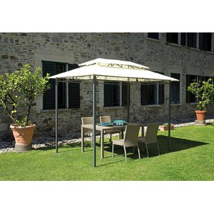 Nazario 3m X 2m Metal Patio Gazebo By Sol 72 Outdoor