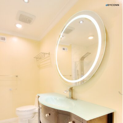Wade Logan Aluminum Frame Electric Wall Mirror & Reviews | Wayfair