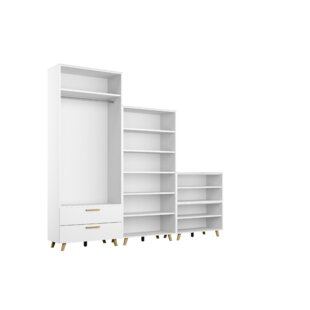 Review Shuffle 240cm Wide Clothes Storage System
