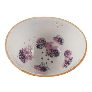 Watercolor Berry Porcelain Colander