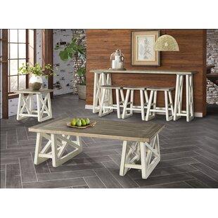 Highland Dunes Charley 2 Piece Coffee Table Set