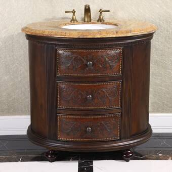 Charlton Home Luce 30 Single Bathroom Vanity Set Wayfair