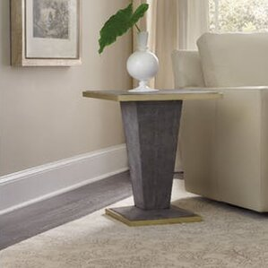 Square Shagreen End Table by Hooker Furniture