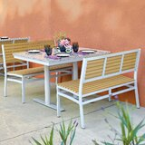 Caspian 3 Piece Bistro Set