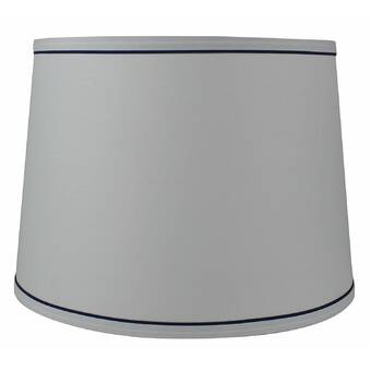 Charlton Home 8 5 H X 12 W Chenille Drum Lamp Shade Spider Reviews Wayfair