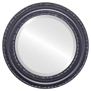 Charlton Home Workington Framed Round Accent Mirror