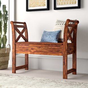 Kylan Wood Storage Bench