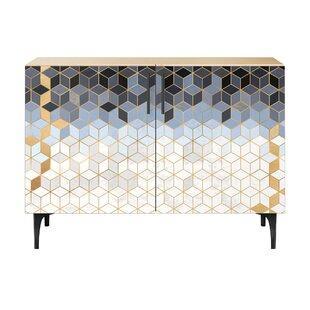 Levin 2 Door Cabinet by Brayden Studio