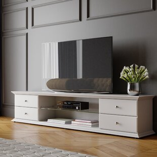 Shop for Ewell TV Stand for TVs up to 86 by Darby Home Co Reviews (2019) & Buyer's Guide