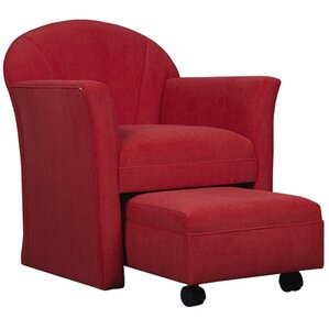 Armchair and Ottoman by AC Furniture