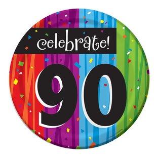 Milestone Celebrations 30th Birthday Plates (Set of 24)