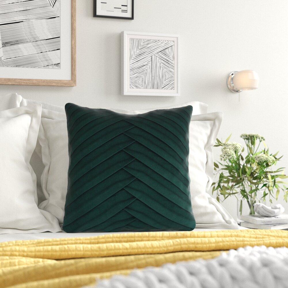 Zipcode Design West Bridgewater Square Pillow Cover And Insert Reviews Wayfair