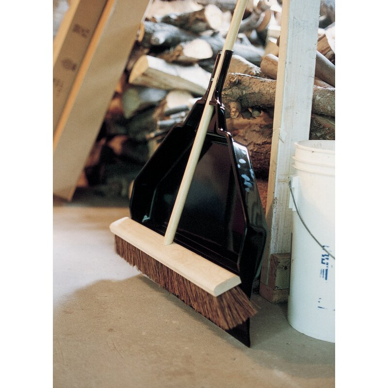 Emsco Group Yard And Garage Dust Pan Household Broom Wayfair