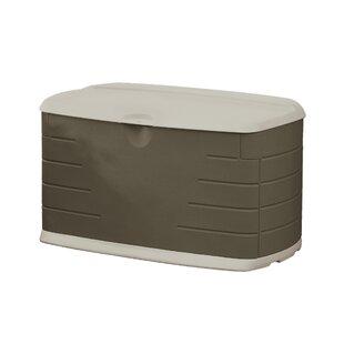 75 Gallon Plastic Deck Box by Rubbermaid