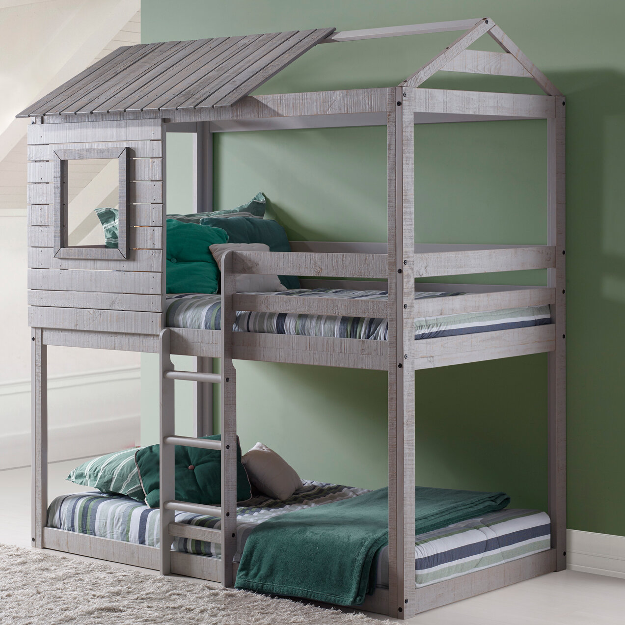 Picture of: Beadnell Twin Over Twin Bunk Bed Reviews