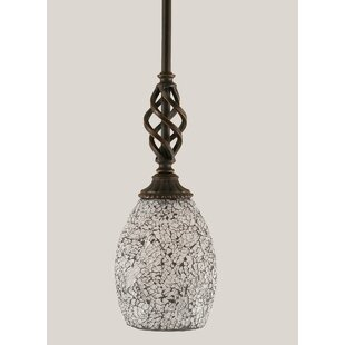 Astoria Grand Pierro 1-Light Cone Pendant
