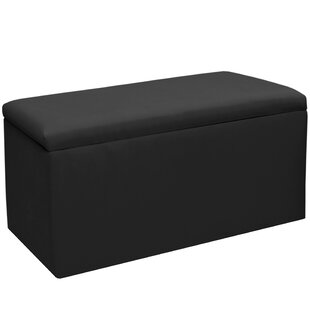 Woodstock Upholstered Storage Bench by Alcott Hill Cool