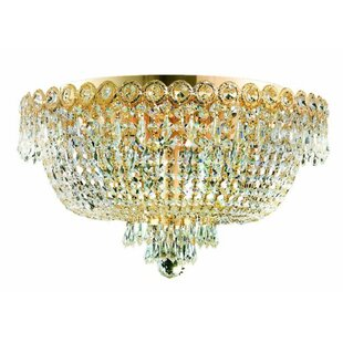 Shop for Wycoff 6-Light Flush Mount By Willa Arlo Interiors