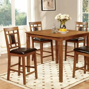 Beetham 5 Piece Counter Height Dining Table Set by Bloomsbury Market Herry Up