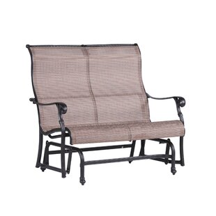 Germano Double Glider Bench with Cushion