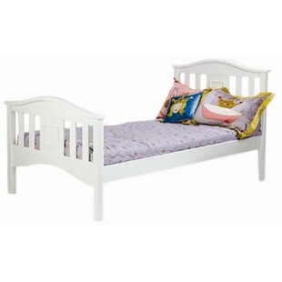 Bonneau Twin Slat Wood Frame Bed