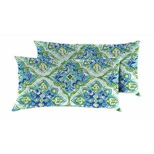 Splendor Outdoor Lumbar Pillow (Set of 2)