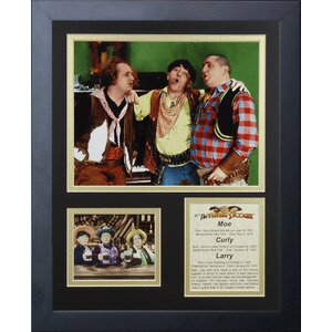 The Three Stooges Framed Memorabilia