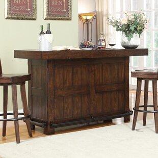 Millwood Pines Tremper Premium Bar Cabinet