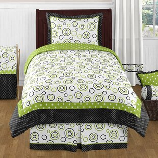 Spirodot 4 Piece 100% Cotton Sheet Set