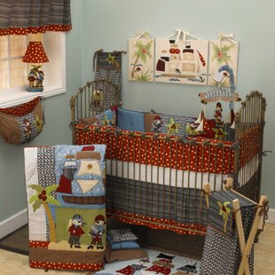 Pirates Cove 10 Piece Crib Bedding Set