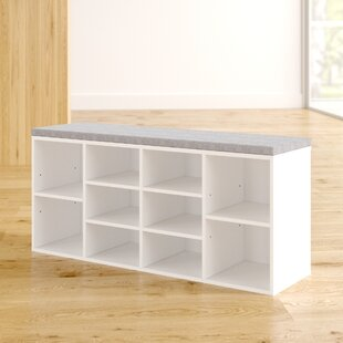 Shoes Wood Storage Bench By Zipcode Design