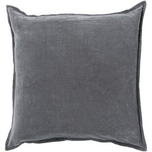 64de2a7fab0 Bradford Smooth 100% Cotton Velvet Throw Pillow
