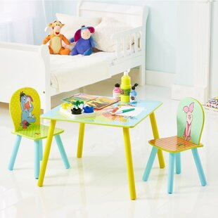 Susie Children's 3 Piece Table and Chair Set by Viv   Rae