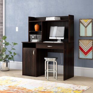 Ryker Computer Desk with Hutch