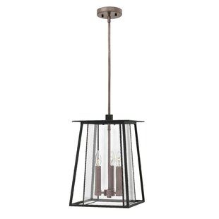 Hinkley Lighting Walker 3-Light Outdoor Hanging Lantern