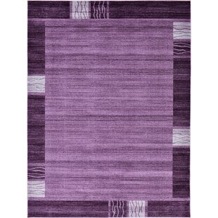 Comparison Christi Purple Area Rug By Orren Ellis
