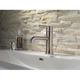 Trinsic® Single Hole Bathroom Faucet with Optional Pop-Up Drain Assembly By Delta