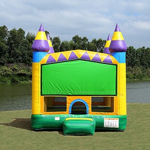 JumpOrange Jungle Zoo Bounce House