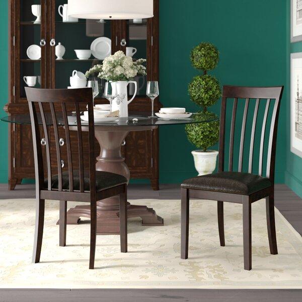 Dark Wood Dining Room Chairs Wayfair