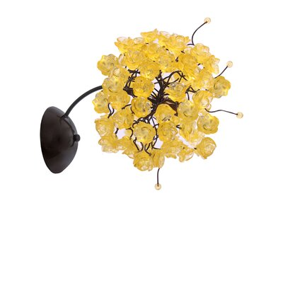 Nura Lightssecret 1 Light Armed Sconce Nura Lights Shade Color Citrus Gold Dailymail