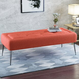 Eichler Upholstered Bench By Mercury Row
