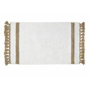 Schoonmaker Stripe Fringe Bath Rug