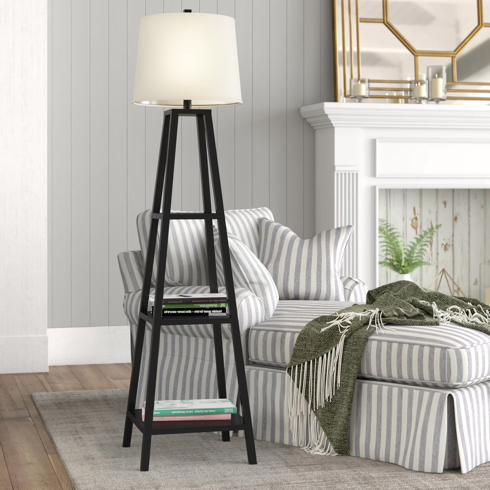Birch Lane Eilers 63 Floor Lamp Reviews Wayfair