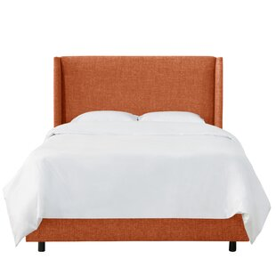 Alrai Upholstered Panel Bed by Mercury Row